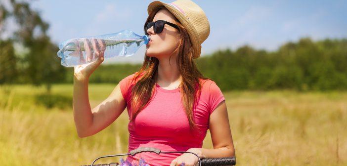 Wat drink je op de fiets als het warm is?