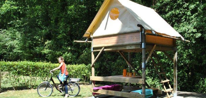 Nazomeren in Frankrijk: gratis huurfietsen en leuke bivaktent voor fietsers