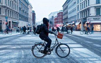 fietsen bij gladheid