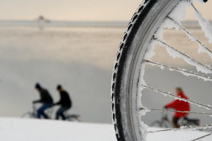 Accu in de winter