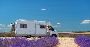 Carvana Camper, kamperen, caravan , fietsen