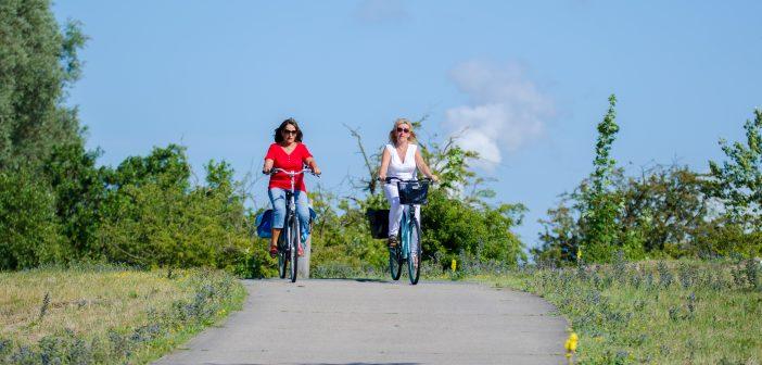 Vier het voorjaar op Voorne-Putten: 10 gratis fietsroutes