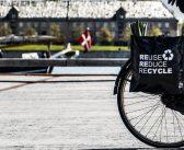 Opvouwbare fietstas