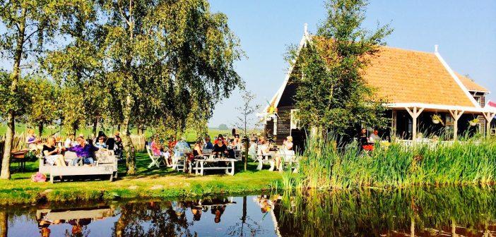 Lekker zomers: gratis theetuinenfietsroute door Waterland