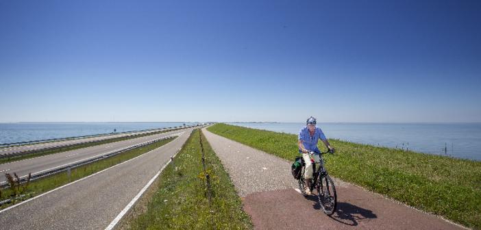 Afsluitdijk open voor fietsers