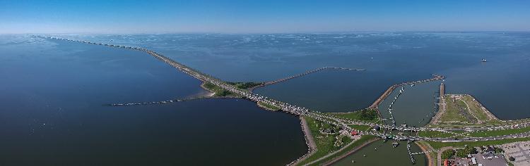 Afsluitdijk toch open voor fietsers