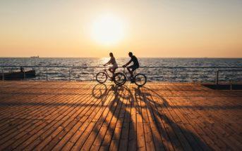 fietsen in de hitte