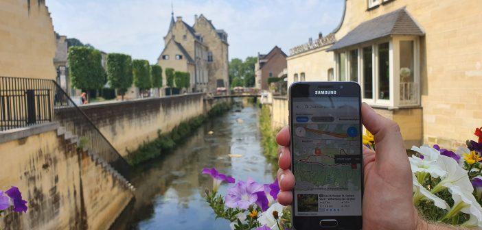 Gratis fietsroutes in nieuwe app 'EUREGIO Grenstochten'