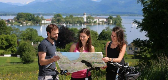 Beste Duitse fietsgebieden: Chiemsee-fietsroute