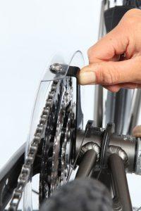 krakende fiets
