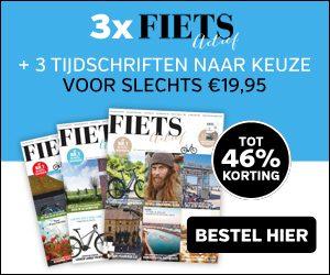 aanbieding drie Fietsactief plus 3 tijdschriften naar keuze tot 46 procent korting