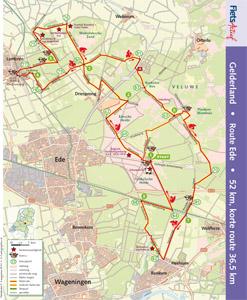 Route Ede FietsActief 5-2014