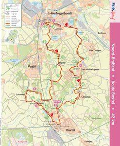 Route Boxtel FietsActief nr _ - 2013