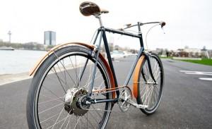 Stijlvolle, stadse e-bike van Roetz