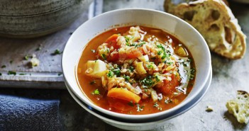 Verwarmend wintersoepje met linzen en wortels