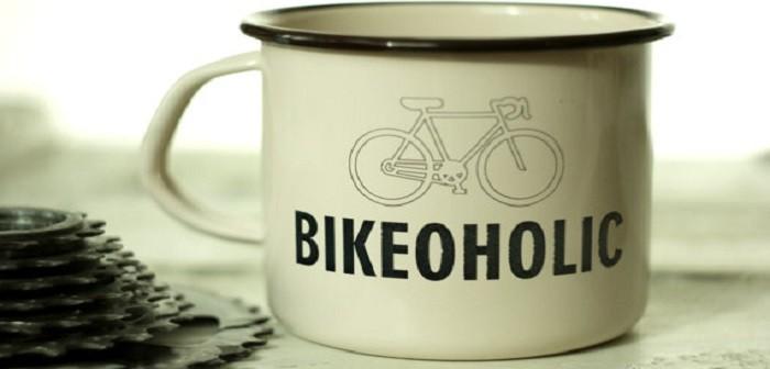 Bikeoholic mok voor de échte fietser