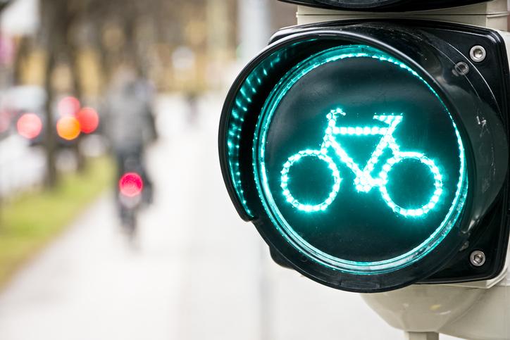 stoplicht op groen dankzij app